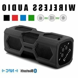 Portable NFC Wireless Bluetooth Speaker Audio Stereo Bass So