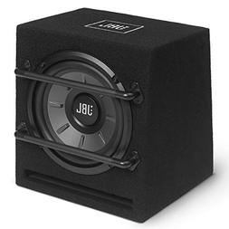 "JBL 8"" Ported Enclosed Car Subwoofer Box W/Built-In AMP 200W"