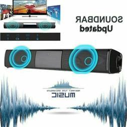 Powerful TV 3D Sound Bar Home Theater Subwoofer Soundbar wit