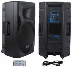 """STARAUDIO Professional 15"""" 3500W Powered DJ Audio Stage USB"""