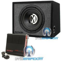 """pkg MEMPHIS PRXE12S 12"""" LOADED SUBWOOFER SPEAKER BASS BOX +"""