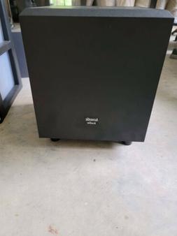 Acoustic Audio PSW-10 400 Watt 10-Inch Down Firing Powered S