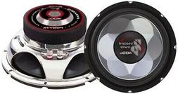 """Pyramid PW677X Chrome 6.5"""" Subwoofer 300W Max w/Competition"""