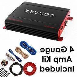 Crunch PX2000.1D 2000 Watts Class D Monoblock Subwoofer Ampl