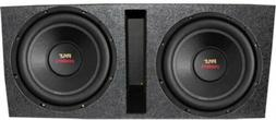 Pyle PLPW12D 12-Inch 3200W Subwoofers With Dual Vented Subwo