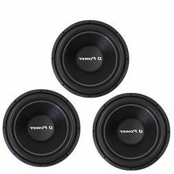 "Q-POWER 15"" 2200W Deluxe Series Dual Voice Coil Car Audio Su"