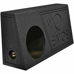 Q Power QBomb Single 10 Inch Vented Subwoofer Sub Box with B