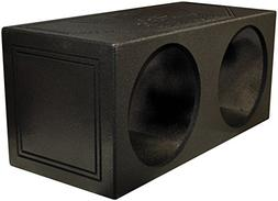 "Q-POWER QBOMB 15"" Dual Sealed Car Subwoofer Sub Box Enclosur"