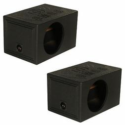 "Q Power QBOMB Single 12"" Vented Ported Car Subwoofer Sub Box"