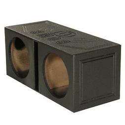 "Qpower QBOMB10V Qbomb Dual 10"" Woofer Box Ported"