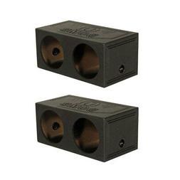 Q-Power QBOMB15S QBomb 15 Inch Dual Sealed Subwoofer Sub Box