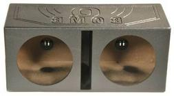 Q Power QBOMB15V Dual 15-Inch Vented Speaker Box from High G