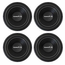 "Q Power QPF12 12"" 1700W Deluxe Series Dual Voice Coil Car Au"