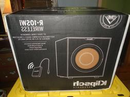 "Klipsch R-10SWi 10"" Wireless Subwoofer - Bluetooth Black Fac"