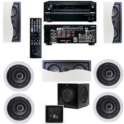 Klipsch R-2502-W II In-Wall Speaker  Onkyo TX-NR636 7.2 Chan