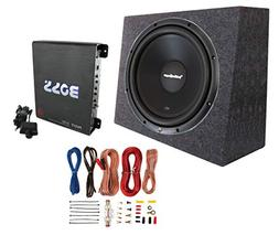 "Rockford Fosgate R1S4-12 12"" 300W Subwoofer + Sealed Box + M"