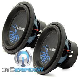 "R3-12 - Pair of Soundstream 12"" 800W RMS Dual 2-Ohm Referen"