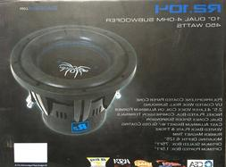 "SOUNDSTREAM  REFERENCE    R2-104     10"" Dual 4-ohm Subwoofe"