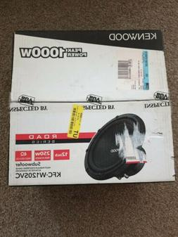 "Kenwood - Road Series 12"" Single-Voice-Coil 4-Ohm Subwoofer"