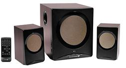 Rockville Rock Media Bluetooth Computer Speakers+Subwoofer 4