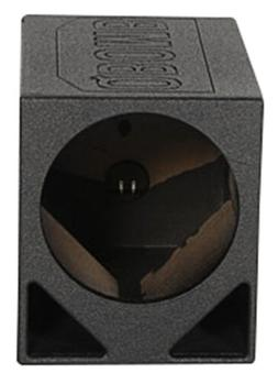 "Rockville RQ12TB Single 12"" Triangle Ported Subwoofer Sub Bo"