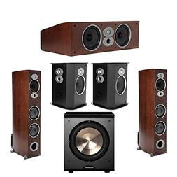 Polk Audio RTi 5.1 Cherry System with 2 A7 Tower Speakers, 1