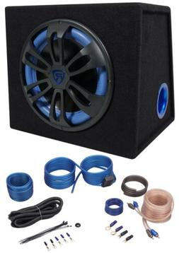 Rockville RVB12.1A 12 500w Active Powered Car Subwoofer+Sub