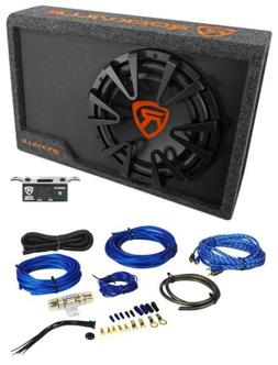 rws12ca slim powered car subwoofer