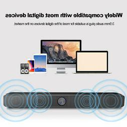 SADA V-193 USB Wired Speaker SoundBar Stereo Subwoofer Music