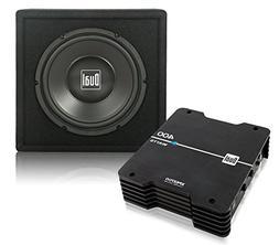 "Dual Electronics SBP270 400 Watt Amplifier and 10"" Subwoofer"