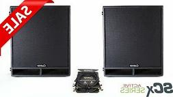 Carvin SCxSYSSUB2 2000W Active 18-Inch Subwoofer System