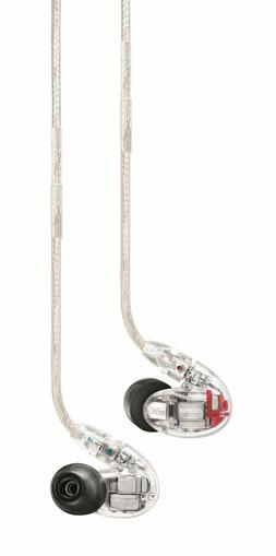 Shure SE846-CL Sound Isolating Earphones with Quad High Defi