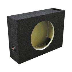QPower SHALLOW110 Single 10 Inch Vented Shallow Subwoofer Su