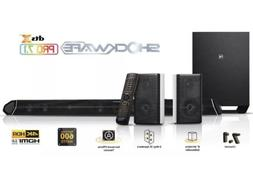 Nakamichi Shockwafe Pro 7.1Ch DTS:X 600W 45-Inch Sound Bar w