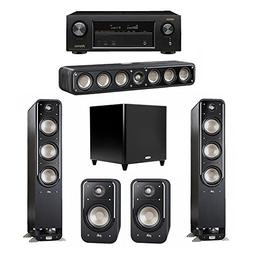 Polk Audio Signature 5.1 System with 2 S60 Tower Speaker, 1
