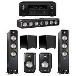 Polk Audio Signature 5.2 System with 2 S60 Tower Speaker, 1