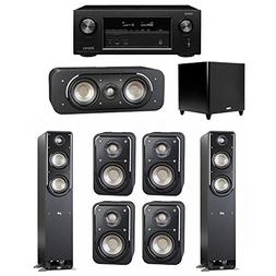 Polk Audio Signature 7.1 System with 2 S50 Tower Speaker, 1