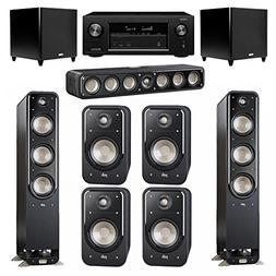 Polk Audio Signature 7.2 System with 2 S60 Tower Speaker, 1