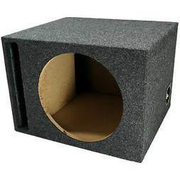 single 12 inch ported subwoofer box car