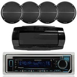 Kenwood Single DIN Bluetooth in-Dash CD/AM/FM/Digital Media