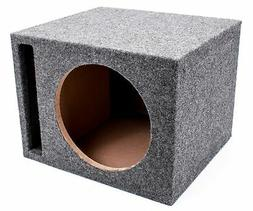 """Q Power Single 10"""" Vented Unloaded Box"""