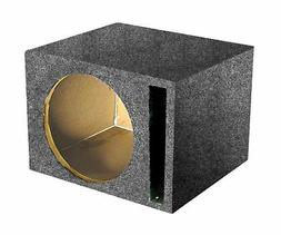 """Q Power Single 12"""" Vented Unloaded Box"""