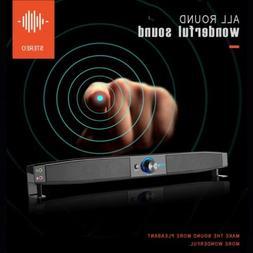 Smalody HiFi Subwoofer Soundbar Multimedia Speaker for Compu