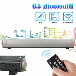Soundbar for TV Home Theater BT Wireless Speaker Sound Bar w