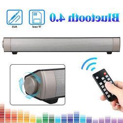 Soundbar for TV Home Theater Bluetooth Wireless Speaker Soun