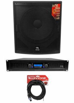 "Peavey SP 118 18"" 2400 Watt Pro DJ PA Subwoofer Sub+Power Am"