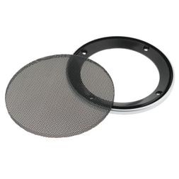 Speaker Decorative Circle SubWoofer Grill Cover Protector Me