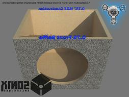 STAGE 1 - SEALED SUBWOOFER MDF ENCLOSURE FOR POWER ACOUSTIK