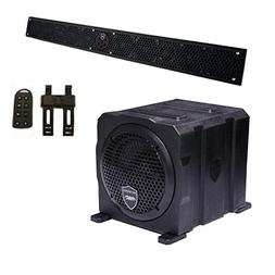 Wet Sounds Package - Black Stealth 10 Ultra HD Sound Bar w/