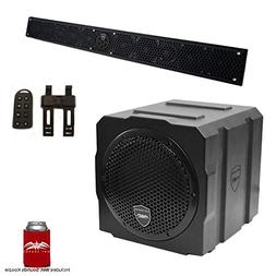 Wet Sounds Package - Black Stealth 10 Ultra HD Sound Bar w/R